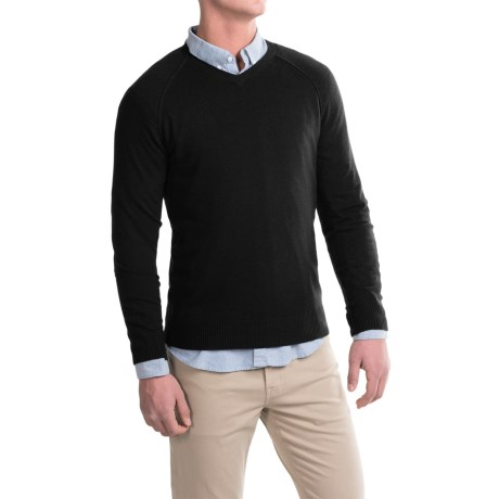 Michael Stars Wool-Modal Sweater - V-Neck (For Men)