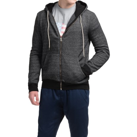 Michael Stars French Terry Hoodie - Full Zip (For Men)