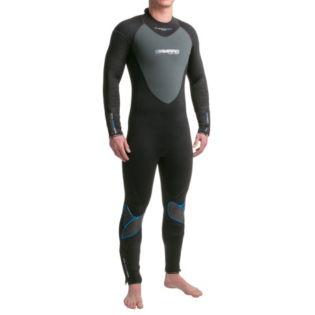 Camaro Overall SuperElastic Dive Wetsuit - 5/3/2mm (For Men)