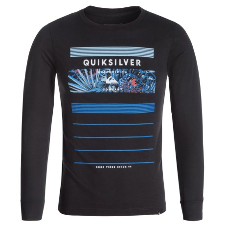 Quiksilver Logo T-Shirt - Long Sleeve (For Big Boys)
