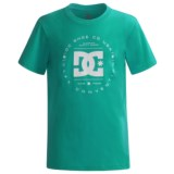 DC Shoes Logo T-Shirt - Short Sleeve (For Big Boys)
