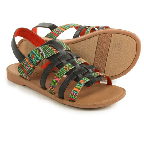 TOMS Huarache Sandals (For Little and Big Girls)