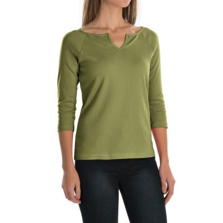 Royal Robbins Kick Back Micro-Rib Shirt - UPF 50+, 3/4 Sleeve (For Women)