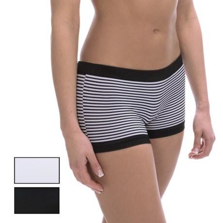 Marilyn Monroe Seamless Panties - Boy Shorts, 3-Pack (For Women)