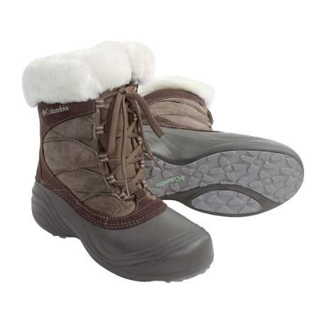 Columbia Sportswear Sierra Sumette Winter Boots - Waterproof Insulated (For Women)
