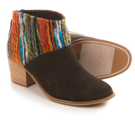 TOMS Leila Multi-Textile Ankle Boots (For Women)