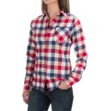 Tall Pines by Woolrich Little Sandy Flannel Shirt - Long Sleeves (For Women)