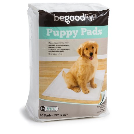Be Good BeGood Puppy Training Pads - 50-Pack