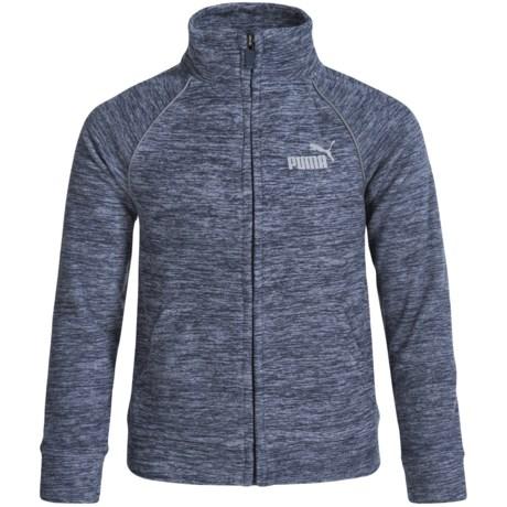 Puma Track Logo Jacket (For Big Boys)