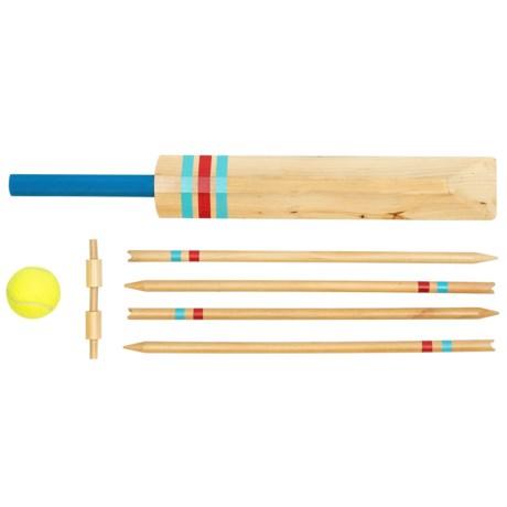 Professor Puzzle Wooden Garden Games Set - Cricket or Baseball