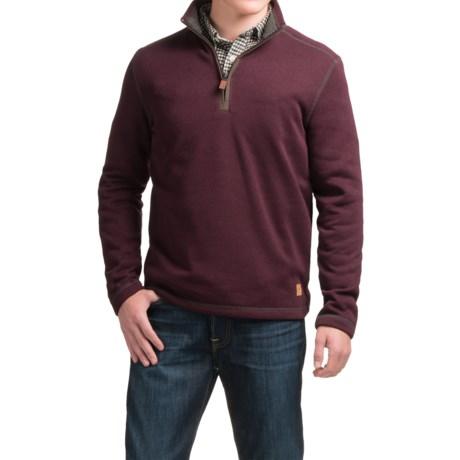 G.H. Bass & Co. Zip Neck Fleece Sweater (For Men)