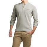Simms Coldweather Henley Shirt - UPF 50+, Long Sleeve (For Men)