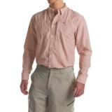 Simms BugStopper Plaid Shirt - UPF 50, Long Sleeve (For Men)