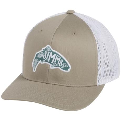 Simms Flexfit® Trucker Cap (For Men and Women)