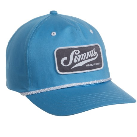 Simms Captains Cap - UPF 50+, Cotton Twill (For Men and Women)