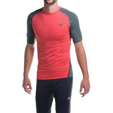 New Balance Trinamics Compression Shirt - Short Sleeve (For Men)