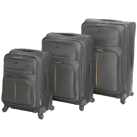 Olympia Broadway Expandable Spinner Suitcase Set - 3-Piece