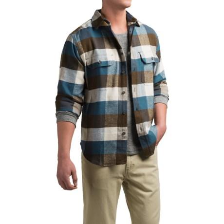 Woolrich Tall Pines Heavyweight Flannel Shirt - Long Sleeve (For Men)