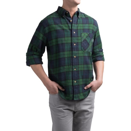 Woolrich Flannel One-Pocket Shirt - Long Sleeve (For Men)