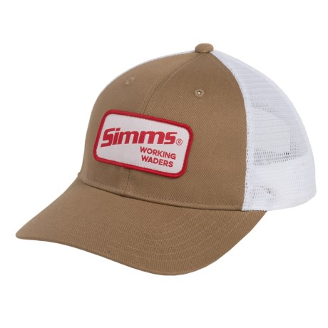 Simms Small Patch Trucker Hat (For Men and Women)