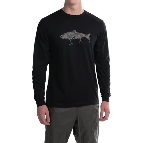 Simms Weapons of Bass Destruction T-Shirt - Long Sleeve (For Men)