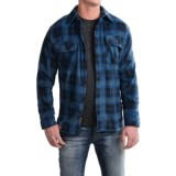 Pacific Trail Printed Fleece Shirt Jacket (For Men)