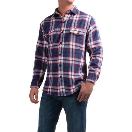 Pacific Trail Cotton Brawny Flannel Shirt - Long Sleeve (For Men)