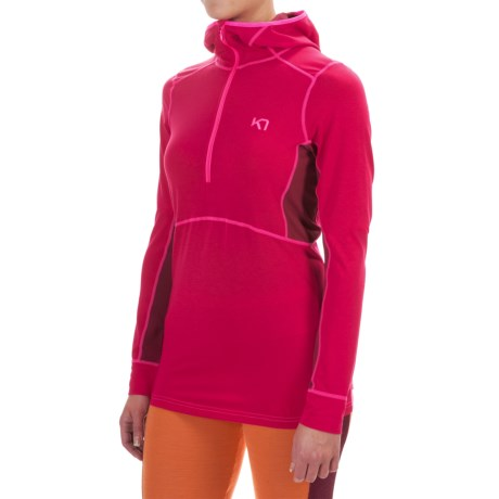 Kari Traa Svala Dri-Release® Base Layer Top - Zip Neck, Long Sleeve (For Women)