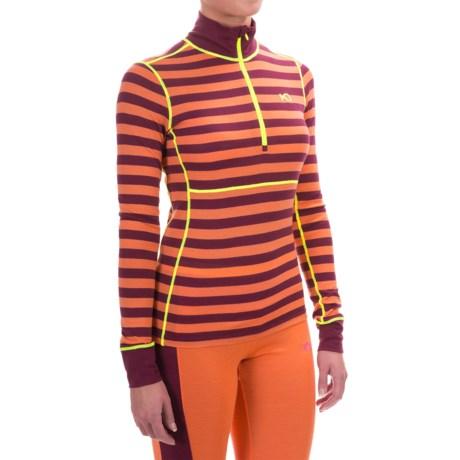 Kari Traa Ulla Base Layer Top - Merino Wool, Zip Neck, Long Sleeve (For Women)