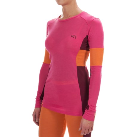 Kari Traa Vossa Base Layer Top - Merino Wool, Zip Neck, Long Sleeve (For Women)