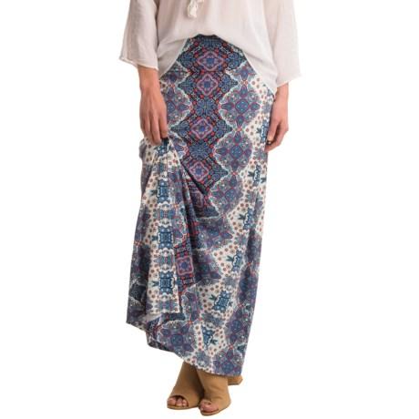 Artisan NY Medallion Maxi Skirt - Rayon (For Women)