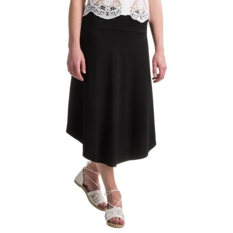 Artisan NY Midi Stretch Rayon Skirt (For Women)