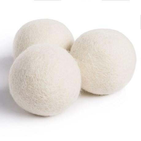Woolzies Dryer Balls - New Zealand Wool, 3-Pack
