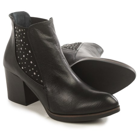 Eric Michael Erin Studded Ankle Boots - Leather (For Women)