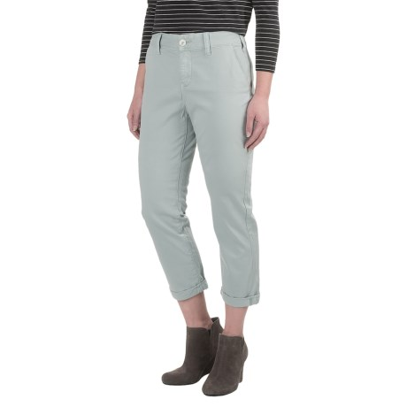 NYDJ Riley Chino Crop Pants (For Women)