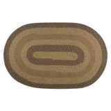 Colonial Mills New Thimbleberries Rug - Oval, Braided, Reversible