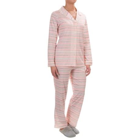 Company Ellen Tracy Classic Pajamas - Long Sleeve (For Women)