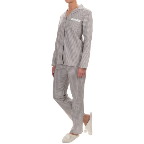 Company Ellen Tracy Classic Flannel Pajamas - Long Sleeve (For Women)