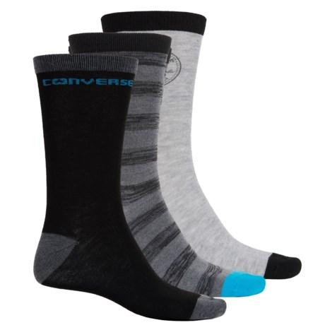 Converse Crew Socks - 3-Pack (For Men)