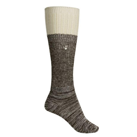 Bearpaw Slouchy Boot Socks - Over the Calf (For Women)