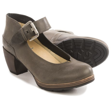 Wolky Aya Mary Jane Shoes - Leather (For Women)
