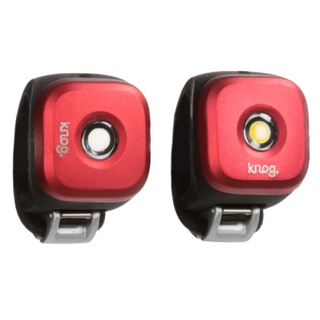 Knog Blinder 1 LED Bike Lights - Twinpack