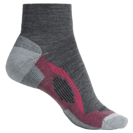 Merrell Azura Mini-Crew Socks - Merino Wool, Quarter Crew (For Women)