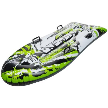 Airhead Chaos Inflatable Toboggan Sled
