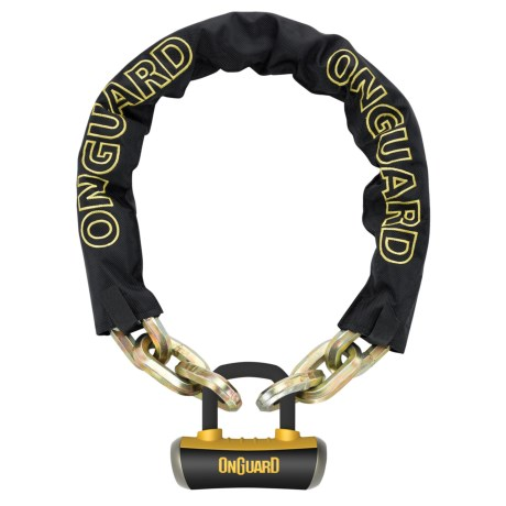 OnGuard Beast Chain Lock - 6', Titanium Reinforced