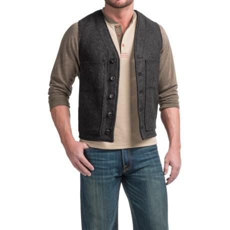 Filson Mackinaw Virgin Wool Vest - Extra Long (For Men)