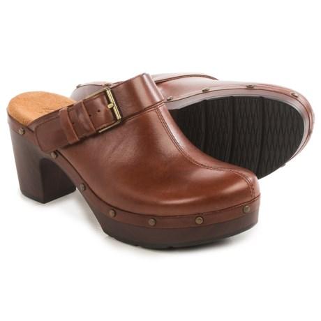 Clarks Ledella York Clogs - Leather (For Women)