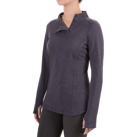 ExOfficio Techspressa Snap Shirt - Long Sleeve (For Women)