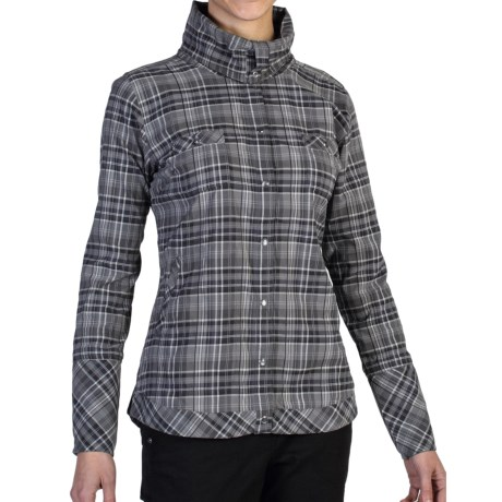 ExOfficio Alba Funnel Neck Shirt - Long Sleeve (For Women)