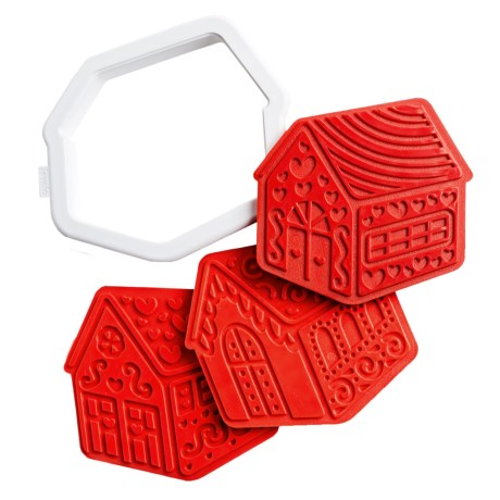 Tovolo Gingerbread House Cookie Cutters - 6-Pack